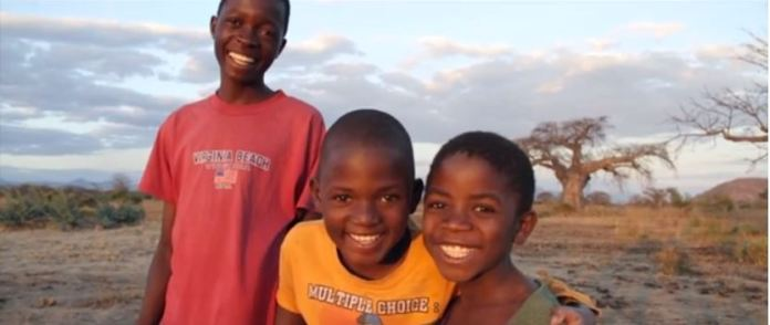 Young children in Mangochi