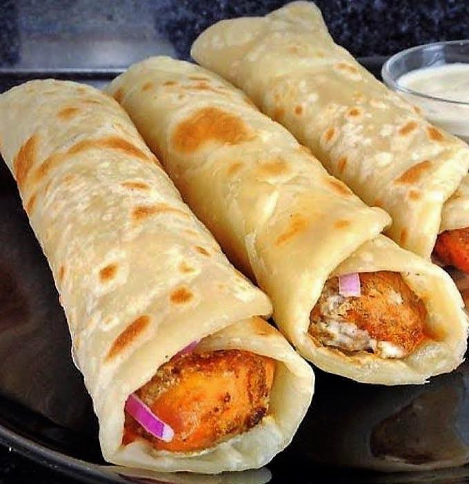 Paratha roll