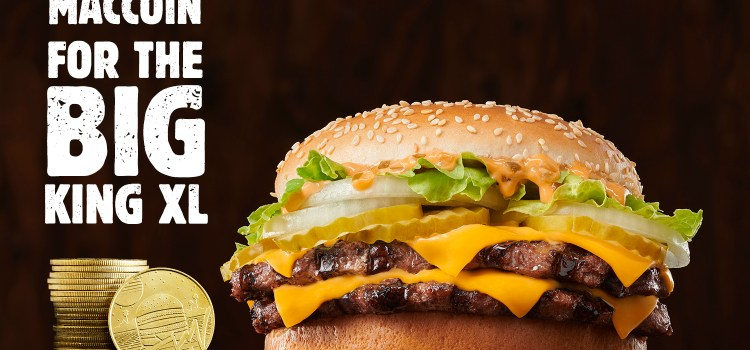The New BIG KING XL Sandwich at BURGER KING® Restaurants Outsizes the Competition