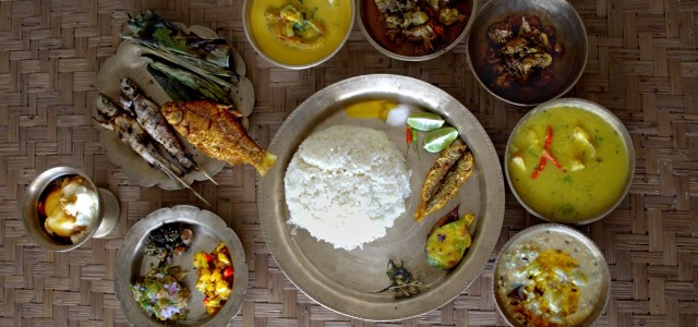 Dining experience in Assam, India