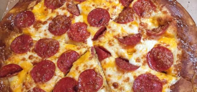 8 Bucks Well Spent!  Little Caesar's Stuffed Pretzel Crust Pizza is a Win!