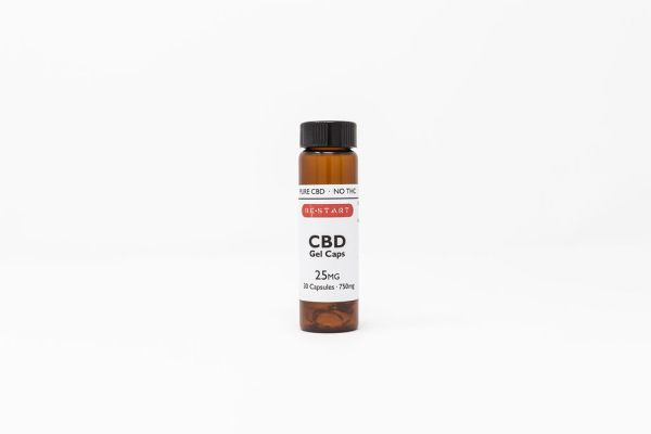 RESTART CBD Pure CBD Isolate Softgels 25mg