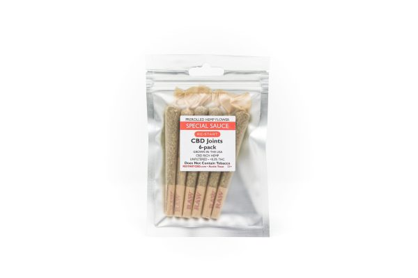 RESTART CBD Flower - Special Sauce Pre-roll 6-pack