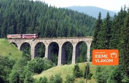 ZSSK: Top 10 železničných tratí, ktorými by ste sa mali na Slovensku previezť