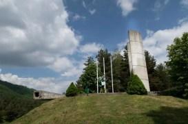 Vrchteplá pamätník SNP
