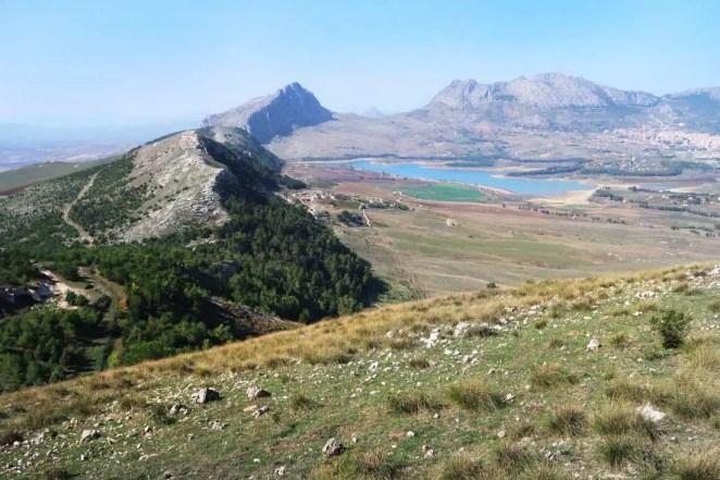 Pohľad na údolie Albanesi