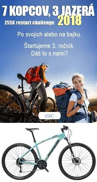 Hlavná cena pre bajkerov horský bicykel BIANCHI KUMA 29. Ak zdoláš všetky  ciele 3372e1745bb