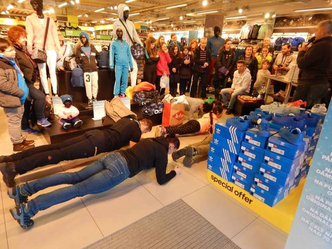 4:34 Plank challenge