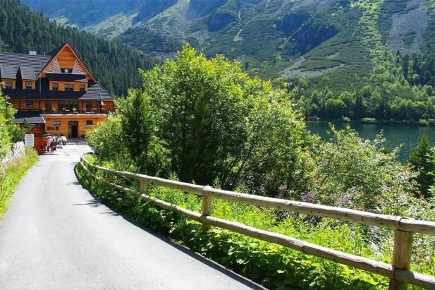 Tatranskou magistrálou zo Štrbského plesa na Sliezsky dom