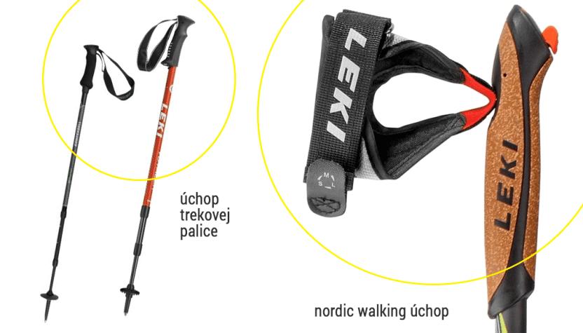 Nordic walking úchop
