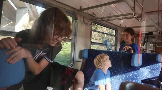 Vlakom a bicyklom na prečerpávaciu stanicu Čierny Váh