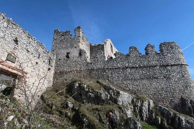 Na hrade Tematín