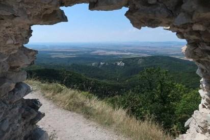 Krásne výhľady z hradu