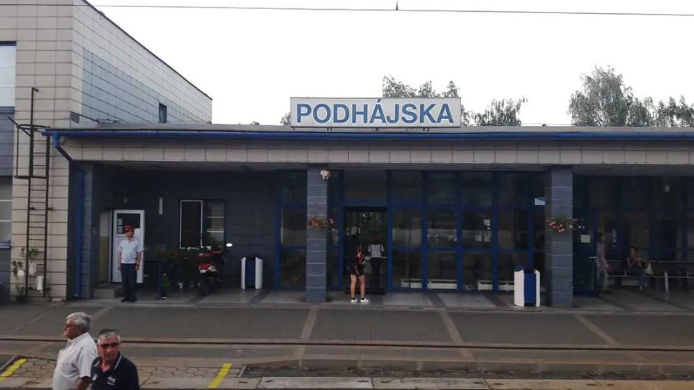 Stanica Podhájska