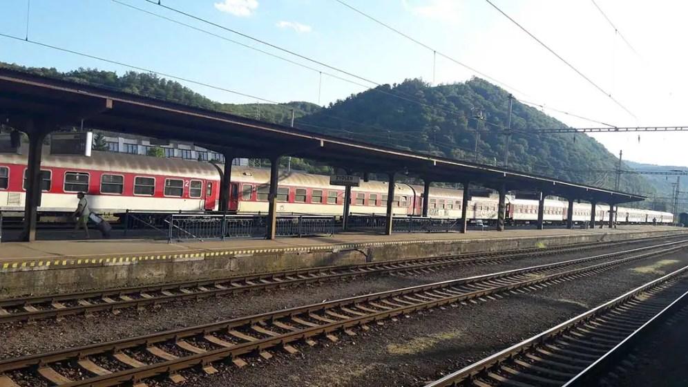 Zvolen vlaková stanica