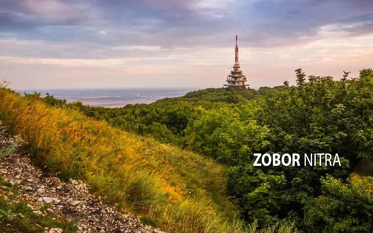 Zobor - turistické trasy/ cyklotrasy
