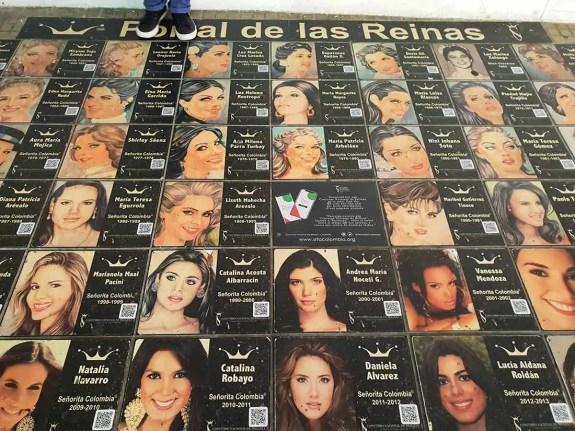 Chodník krásy, Miss Colombia