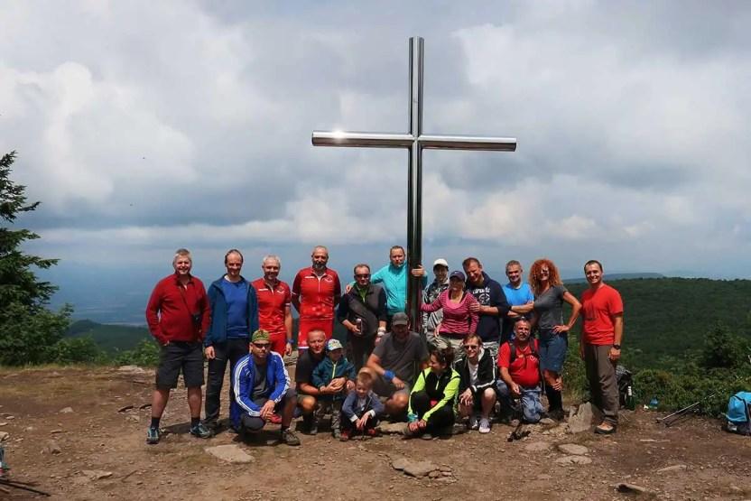 Vtáčnik Ostrý Grúň 2019 turistický výstup