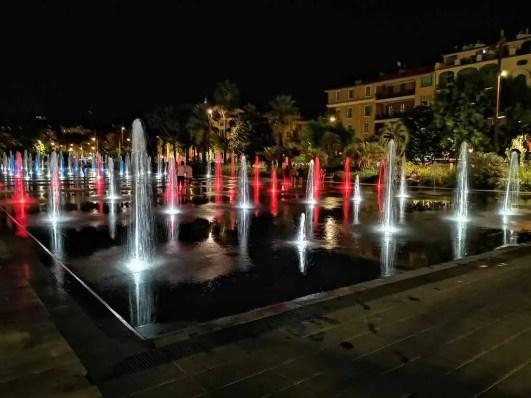 Place de Massena fontány