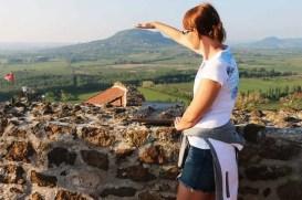 Vrch Sv. Juraja, rodinný výlet v Maďarsku