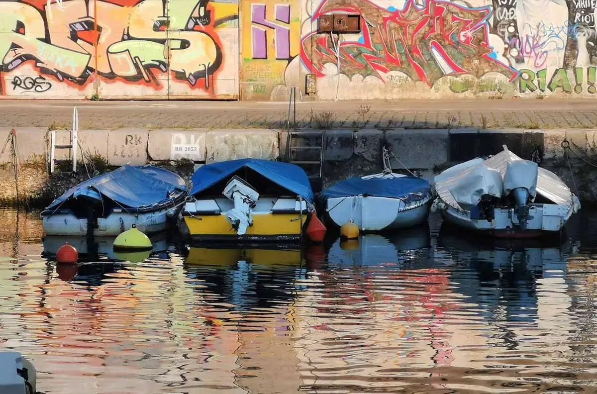 Rijeka centrum kanál