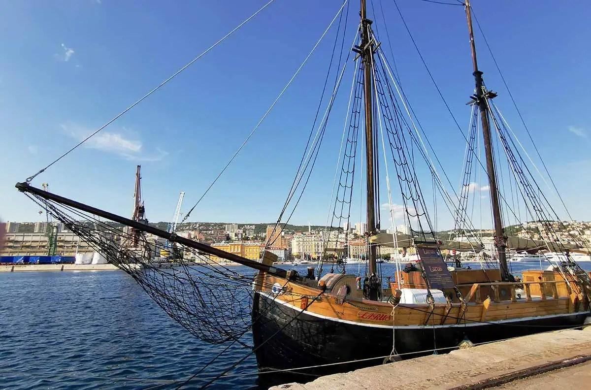 Larus boat národná pamiatka