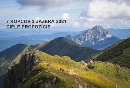7 kopcov 3 jazerá 2021 propozície