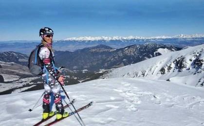Skialp okolo Ďumbier a Chopku, po hrebení Nízkych Tatier