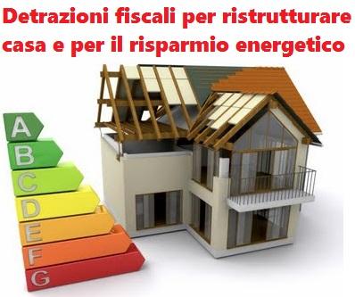 L'inverno si sta avvicinando… Scopri come sfruttare le detrazioni fiscali del 50 e 65%