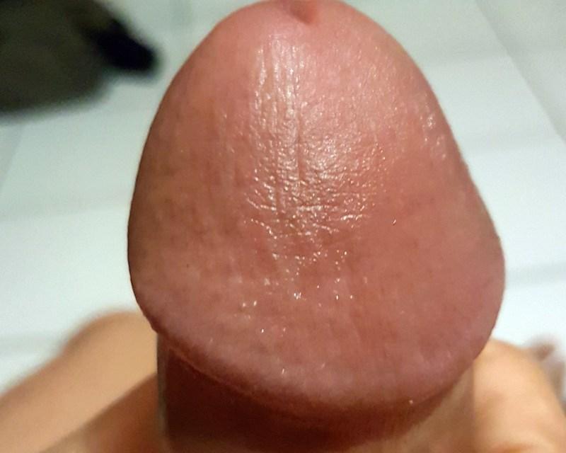 La textura de mi glande ha mejorado bastante. Ahora luce más suave y brilloso.