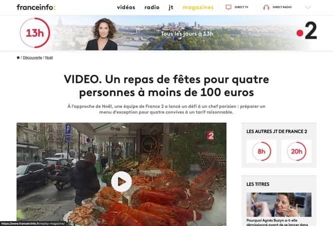 Un repas de fêtes pour quatre personnes à moins de 100 euros sur France2