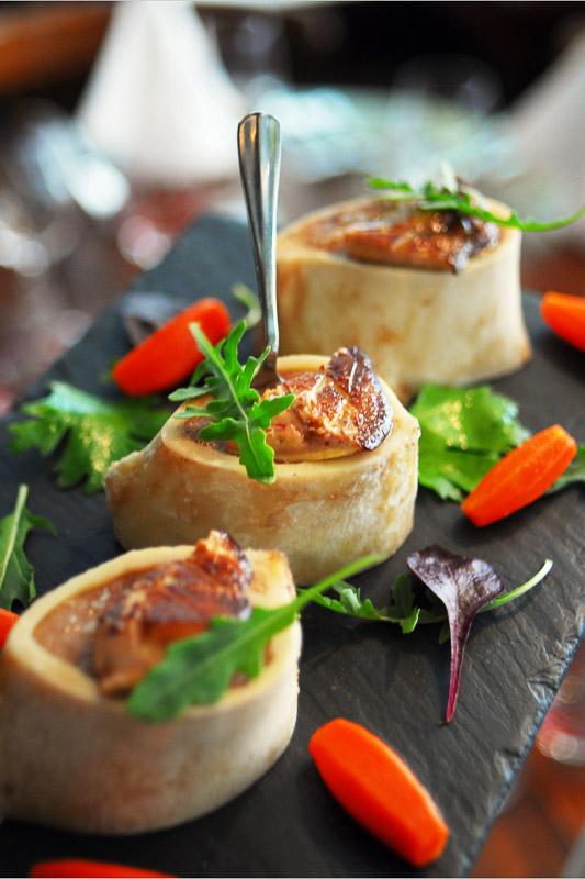 Os à moelle au foie gras