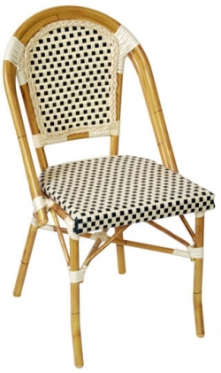 Aluminum Bamboo Patio Chair Restaurant Furniture Canada