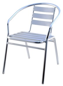 stainless steel patio chair #caf-721