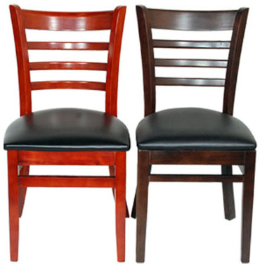 commercial grade wooden chairs