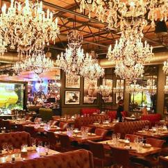 Chandeliers For Kitchen Track Lighting Ideas A Tour Of Town Hearth's Whimsical Dining Room | Restaurant ...