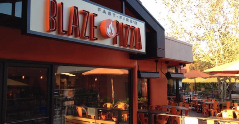 Blaze Pizza heats up fastcasual pizza segment  Restaurant Hospitality