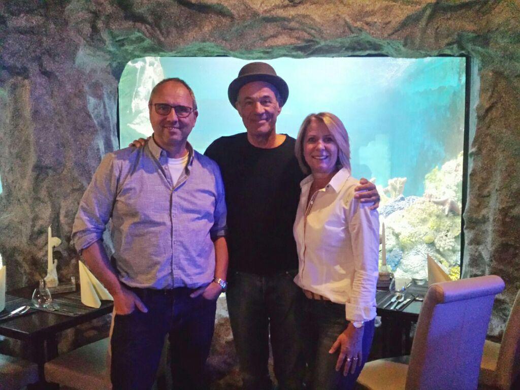 VIPs zu Besuch im La Mer mit der Geschäftsleitung