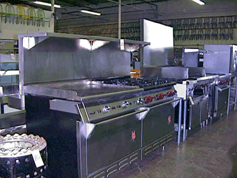 kitchen equipment used divider restaurant sacramento california