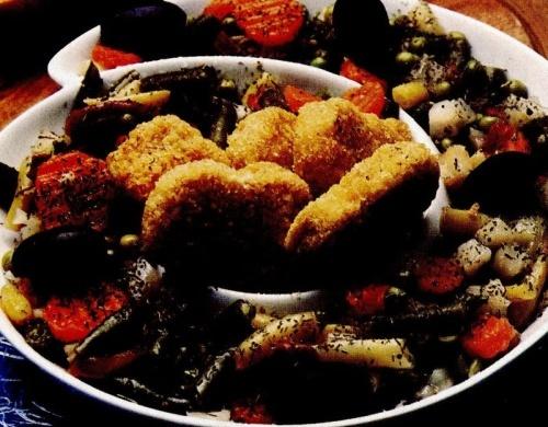 Chifteluţe de peşte cu oregano