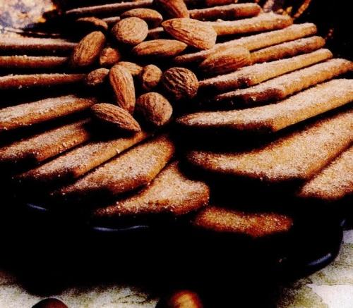 Biscuiţi cu migdale si alune