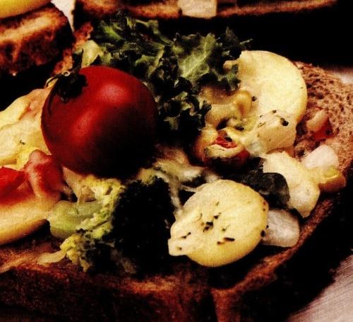 Dejun cu legume