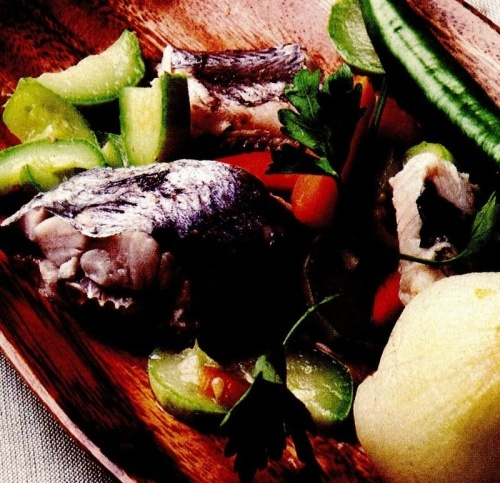 Merluciu cu legume
