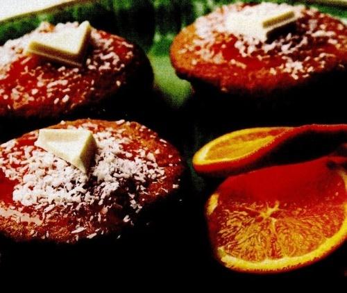 Minitarte cu portocale