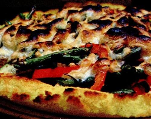 Pizza pe blat de mamaliga