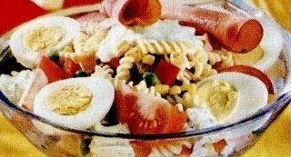 Salate cu paste si oua