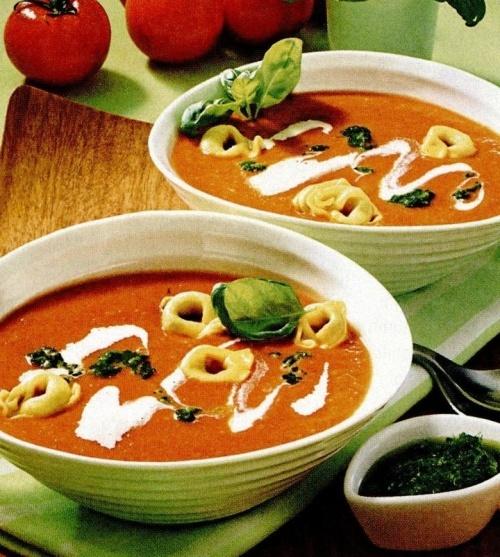 Supă italienească de roşii