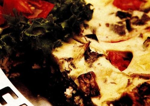 Tartă de brânză cu legume