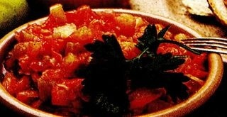 Zacusca din morcovi şi mere