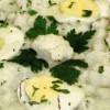 Mancare de conopidă cu ou